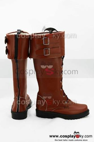 Captain America 2 The Winter Soldier The Return of the First Avenger Steve Rogers Stiefel Schuhe Cosplay