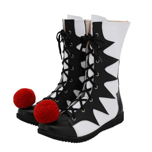 IT Es: Kapitel 2 Film Pennywise The Clown Outfit Cosplay Schuhe Stiefel Schwarz