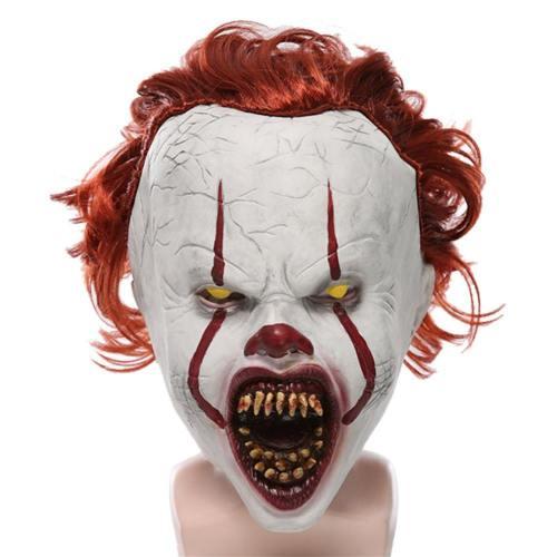 2019 IT Film Es: Kapitel 2 Film 2019 Horrorclown Pennywise The Clown Maske Cosplay Requisiten