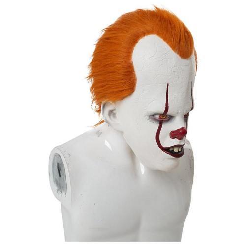 Es: Kapitel 2 Film 2019 Horrorclown Pennywise The Clown Maske Kopfbedeckung Cosplay Maske Requisite