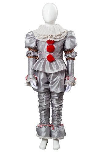 Es: Kapitel 2 Film 2019 Horrorclown Pennywise The Clown Outfit Cosplay Kostüm für Kinder