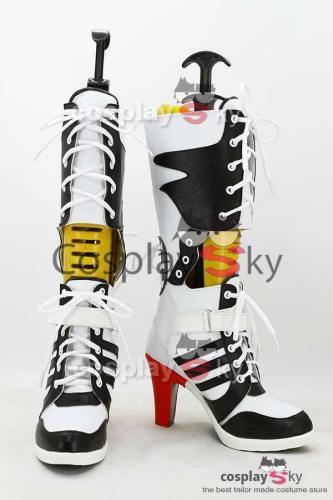 Batman Suicide Squad Harley Quinn Stiefel Cosplay Schuhe