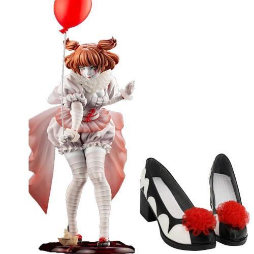 IT Pennywise The Clown Halloween Karneval weiblich Schuhe Cosplay Schuhe