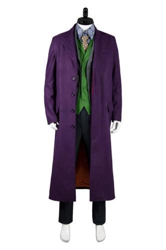 Batman Dark Knight Joker 6 pcs Set * Mantel Cosplay Kostüm Gabardine