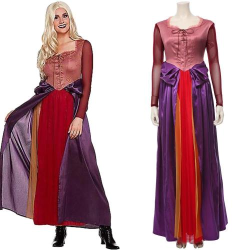 Hocus Pocus Sarah Sanderson Cosplay Kostüm Kleid Erwachsene