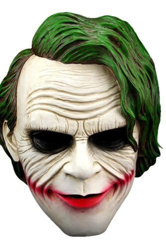 Batman The Joker ABS Cosplay Maske The Dark Knight Halloween Karnival Cosplay