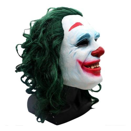 Batman Joker Dark knight Crown Maske Kopfbedeckung Cosplay Requsite Grün