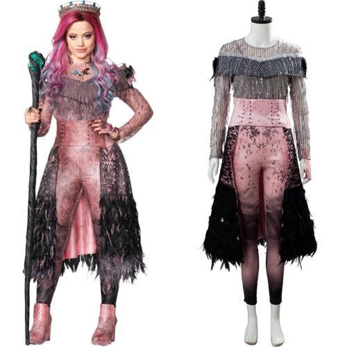 Descendants 3 Evil Audrey Cosplay Kostüm für Erwachsene Damen Kostüm