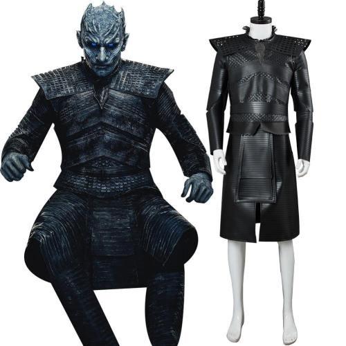 Got S8 Game of Thrones Staffel 8-Night's King The Night King Nachtkönig Cosplay Kostüm Version B