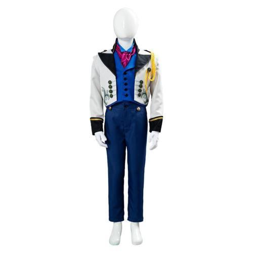 Die Eiskönigin Frozen Prinz Hans Cosplay Kostüm für Kinder Jungen Halloween Karneval Kostüm