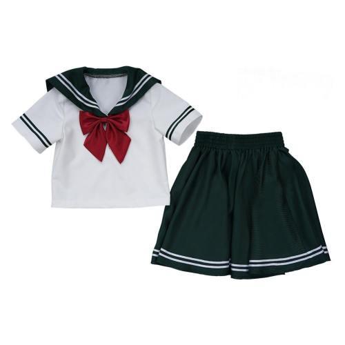 Kinder JK Uniform Sailor Suit Mädchen Matrosenanzug Cosplay Sailor Moon Sailor Jupiter Kostüm