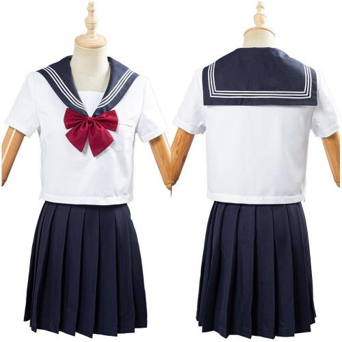 JK Japanische Uniform Schuluniform Studentin Unform Matroseanzug Cosplay Kostüm