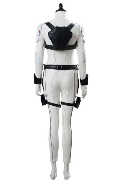 Film Black Widow Suit Jumpsuit Cosplay Kostüm Weiß Version