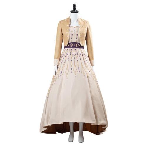 Frozen 2 Prinzessin Anna Die Eiskönigin 2 Anna Kleid Cosplay Kostüm Halloween Karneval Kostüm
