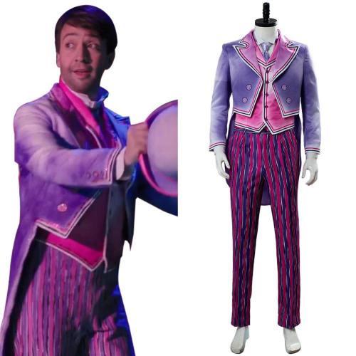 Mary Poppins Return 2 Mary Poppins' Rückkehr 2 A Cover Is Not the Book Jack Handgemalt Kostüm Cosplay Kostüm Set