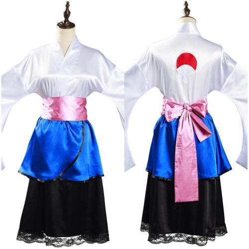 NARUTO Sasuke Uchiha Cosplay Kostüm Kimono Halloween Karneval Outfits