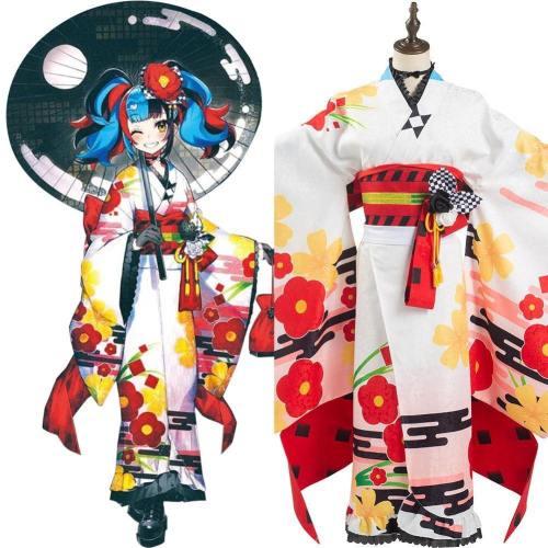 Fate/Grand Order FGO 5-jährige Archer Kiyohara no Nagiko Kimono Sei Shonagon Cosplay Kostüm