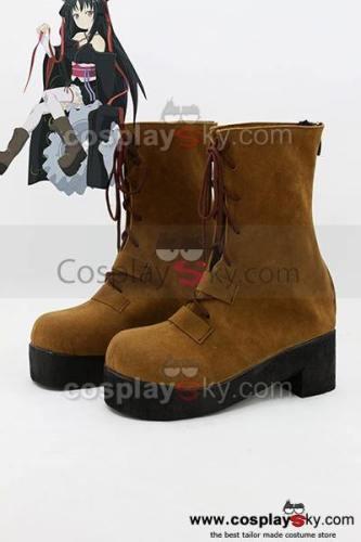Unbreakable Machine-Doll Yaya Cosplay Stiefel Schuhe