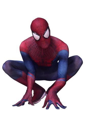 The Amazing Spiderman 3D Print Spandex Spider-man Superhero Coaplay Kostüm TASM Zentai Jumpsuit