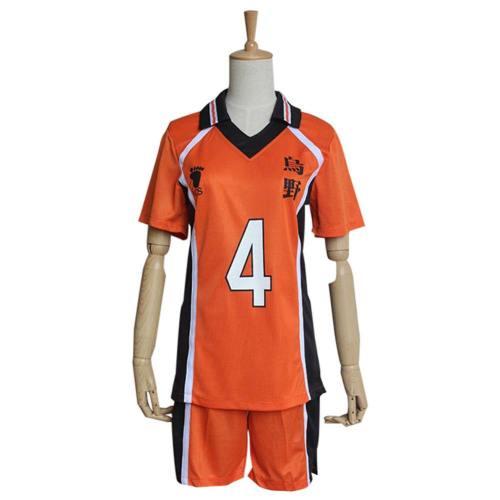 Nishinoya Yuu Haikyuu Cosplay Kostüm Sportbekleidung T-Shirt Trikots