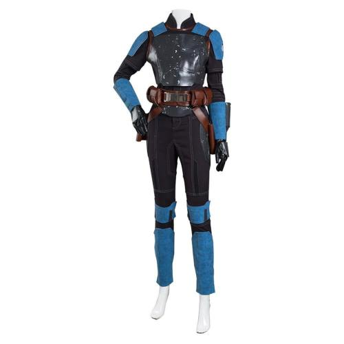The Mandalorian 2 Bo-Katan Kryze Kostüm Jumpsuit Halloween Karneval Outfits