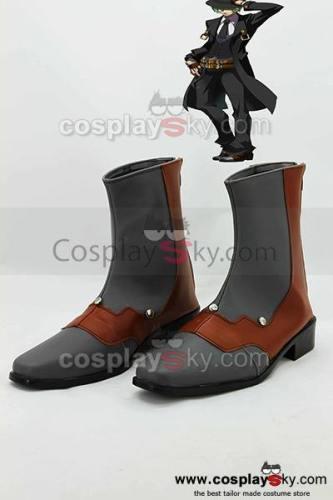 BlazBlue: Calamity Trigger HAZAMA Cosplay Stiefel Schuhe