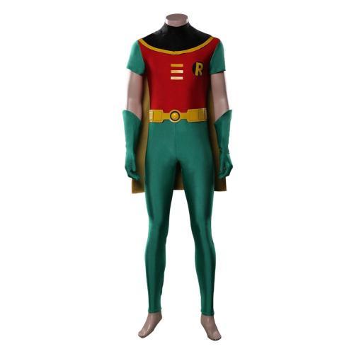 Teen Titans Robin Cosplay Kostüm Jumpsuit Halloween Karneval Outfits