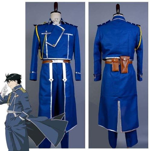 FullMetal Alchemist Cosplay Roy Mustang Uniform Kostüm