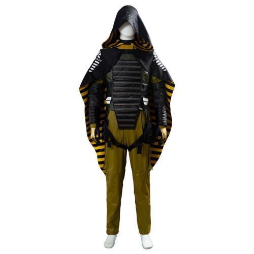 Cosplay Higgs Monaghan Void Out Death Stranding Homo Demens Kostüm Mann mit der goldenen Kopfbedeckung