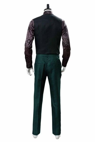 Gotham - Staffel 5 Riddler Edward Nygma Cosplay Kostüm Grün Set