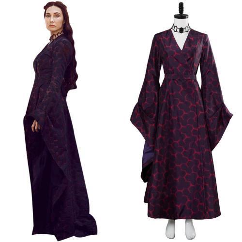 Got 8 Game of Thrones Staffel 8 Melisandre Kleid Cosplay Kostüm NEU Version
