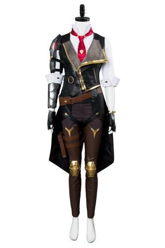 Overwatch Heroes Helden Ashe Cosplay Kostüm Set