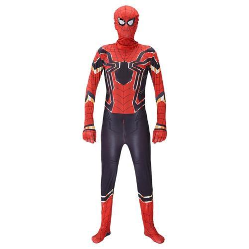 Avengers 4 Endgame Spider Man Jumpsuit Erwachsene Faschingkostüme Halloween Karneval