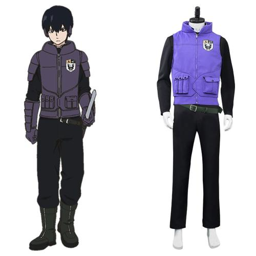 World Trigger Miwa Unit Cosplay Kostüm Halloween Karneval Outfits