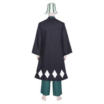 Bleach Kisuke Urahara Mantel Cosplay Kostüm Outfits Halloween Karneval Kostüm