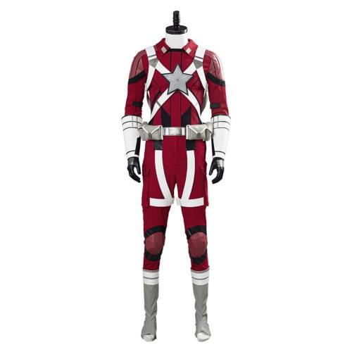 2020 Black Widow Red Guardian Alexi Cosplay Kostüm Outfits Halloween Karneval Kostüm