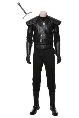 The Witcher Der Hexer Henry Cavill Geralt Geralt von Riva Cosplay Kostüm Version B