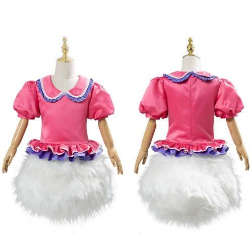Donald Duck Daisy Duck Kleid Damen Mädchen Kleid Cosplay Kostüm