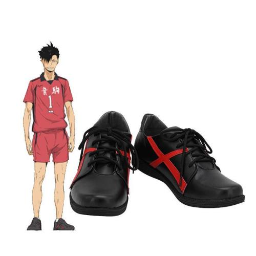 Haikyuu Nekoma High School Nu 1 Kuroo Tetsurou Schuhe Cosplay Schuhe