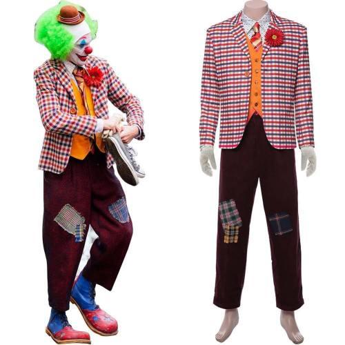 Joker Film 2019 Joaquin Phoenix Arthur Fleck Anzug Cosplay Kostüm NEU