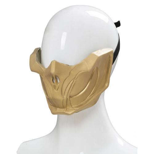 Mortal Kombat 11 Fighting Game Kampfspiel Scorpion Hanzo Hasashi Kopfbedeckung Cosplay Requisite