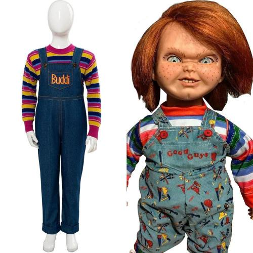 Child's Play Chucky – Die Mörderpuppe Buddi Cosplay Kostüm für Kinder