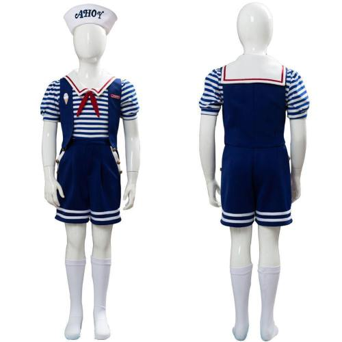 Robin Stranger Things 3 Scoops Ahoy Uniform Cosplay Kostüm für Kinder