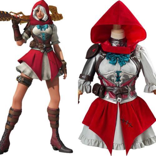 OW Overwatch Ashe Elizabeth Caledonia Rotkäppchen der Little Red Ashe Cosplay Kostüm Neu Halloween Karneval Kostüm