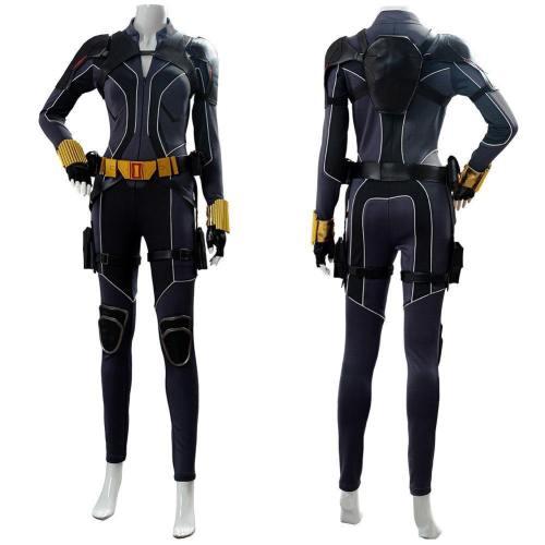 Natasha Romanoff Jumpsuit Black Widow Film 2020 Cosplay Kostüm