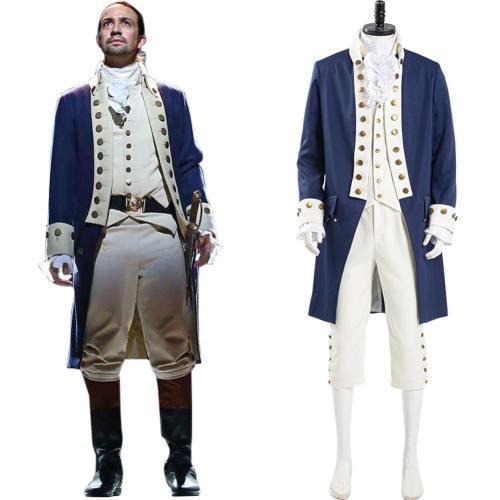 Musical Hamilton Alexander Hamilton Cosplay Kostüm Herren Uniform Outfits Halloween Karneval Kostüm