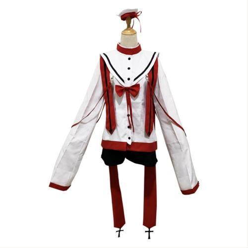 Black Butler Ciel Phantomhive Chorfassung Cosplay Kostüm Weiß