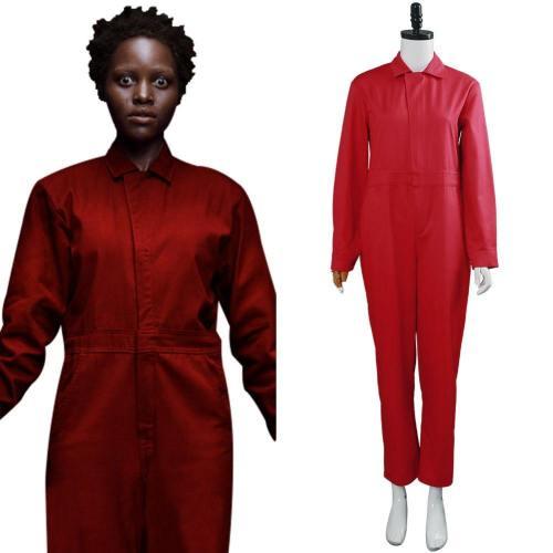 Film Wir Us Jumpsuit Cosplay Kostüm Rot