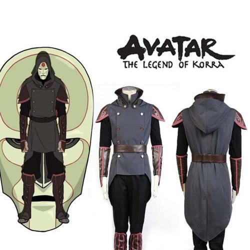 Avatar Legend of Korra Amon Cosplay Kostüm