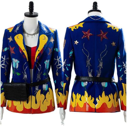 Harley Quinn Birds of Prey Kostüm Cosplay Jacke Damen Kostüm